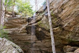 Anglin Falls is a waterfall in Rockcastle County Kentucky.