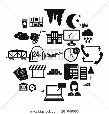 Director Icons Set. Simple Set Of 25 Director Vector Icons For Web Isolated On White Background