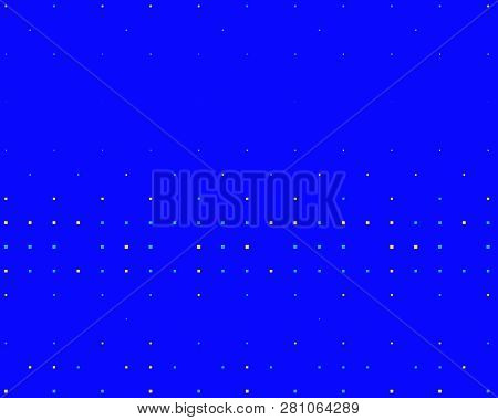 Pattern In The Style Of 8 Bit Graphics With Small Squares. Retro Pattern Of 80s. Scalable Vector Gra