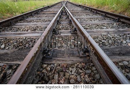 soft of a railroad track