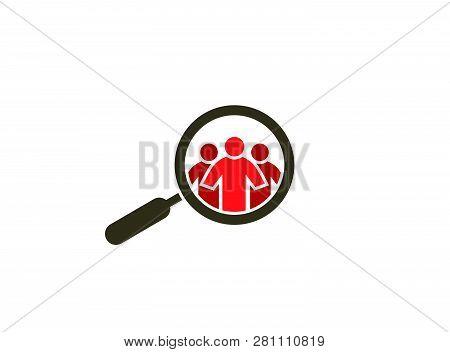 Loupe Spy On Peaple For Logo Design