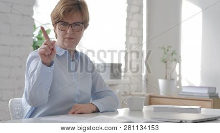 Old Woman Denying And Not Allowing Wrong Deal