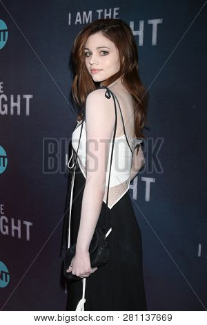 LOS ANGELES - JAN 24:  India Eisley at the