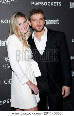 LOS ANGELES - JAN 26:  Lexi Murphy, Max Thieriot at the Entertainment Weekly SAG Awards pre-party  at the Chateau Marmont  on January 26, 2019 in West Hollywood, CA