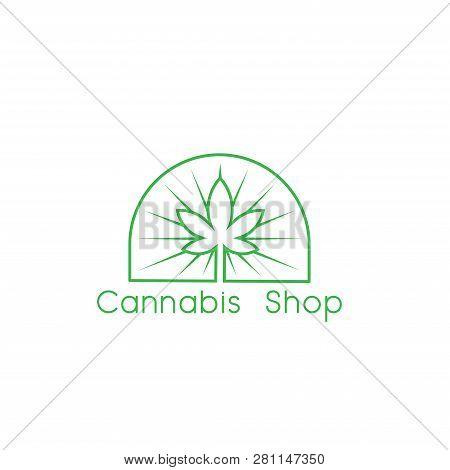 Cannabis. Marijuana. Cannabis Vector. Cannabis icon Vector. Cannabis logo vector. Cannabis symbol. Cannabis medical care design. Cannabis illustrations. Cannabis leaf design. Medical Lungs. Cannabis medical vector illustration isolated on white background