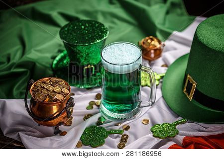 St. Patrick's Day Still Life