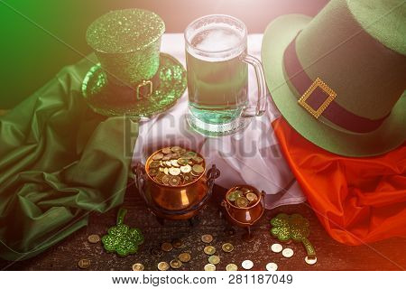 St Patrick's Day Holiday Concept