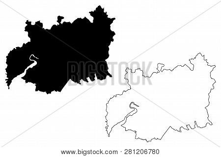 Map Of England Gloucestershire.Gloucestershire Vector Photo Free Trial Bigstock