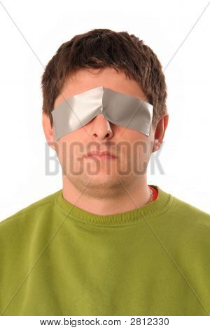 Guy With Adhesive Tape