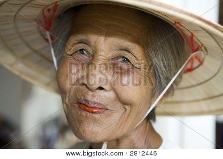 Alte asiatische Frauen