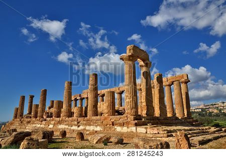 The Valley of the Temples is an archaeological site in Agrigento, Sicily, Italy. It is one of the most outstanding examples of Greater Greece art and architecture.
