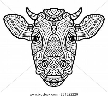 Adult Coloring Page Vector \u0026 Photo (Free Trial)