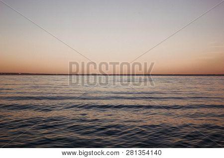 Sunset. Beautiful Sunset. Painting Sea Sunset. The Sea At Sunset. Amazing Sea Sunset. Sunset Sea Wav