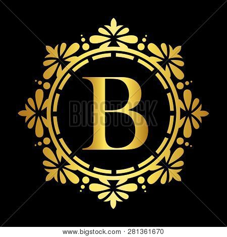 Lustration Of Luxury Logo, Classic And Elegant Logo Designs For Industry And Business, Interior Logo
