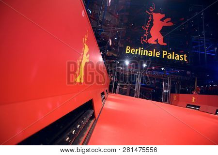 Atmosphere attends the Berlinale during the 68th Berlinale International Film Festival Berlin at BerlinalePalace on February 15, 2018 in Berlin, Germany.
