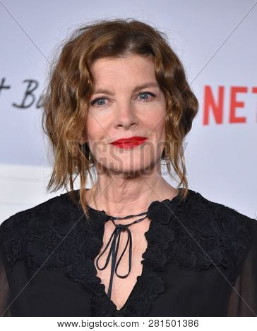 LOS ANGELES - JAN 28:  Rene Russo arrives for the Netflix 'Velvet Buzzsaw' Premiere on January 28, 2019 in Hollywood, CA