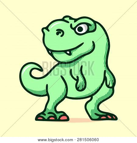 Character Love Dinosaurs. Dino Character. Reptile Animal. Cute Dinosaurs Design. Cute Baby Stegosaur