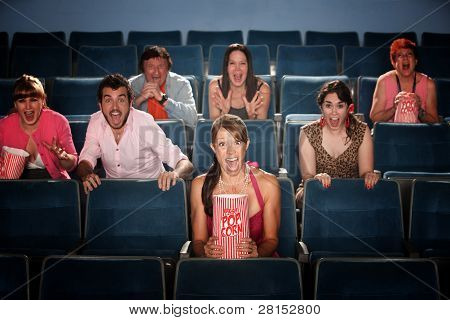 Scared In Theater