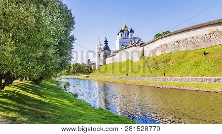 Pskov, Russia.Pskov - one of the oldest cities in Russia poster