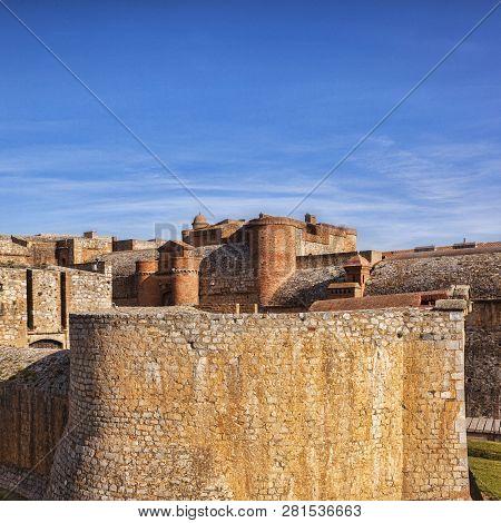 Fort De Salses, Salses-le-chateau, Languedoc- Rousssillon, Pyrenees Orientales, France
