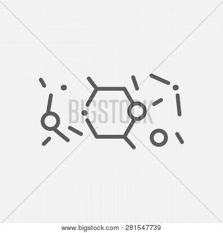 Condensed Matter Physics Icon Line Symbol. Isolated Vector Illustration Of  Icon Sign Concept For Yo