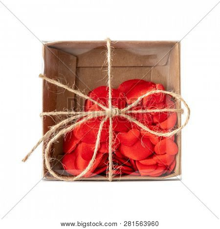 An image of a small box of hearts