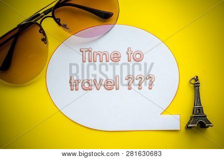 Board With Message, Vacation Travel Traveling Holiday Holidays Relax. Welcome To Europe Travel Landm