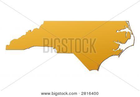 North Carolina (Usa) Map