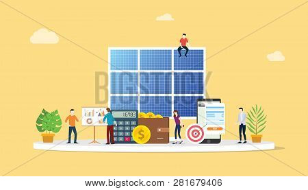 Solar Panel Energy Business Electric Saving Financial Alternative Efficient For Cheaper Solutions Wi