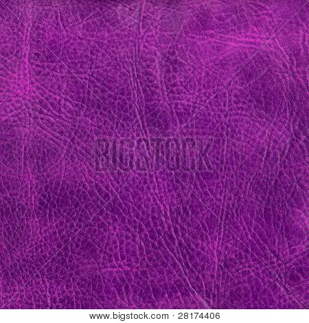 Close-up purple leather texture to background