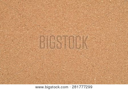 Cork Napkin Background Texture With Free Space For Copy Text. Corkboard Background. Texture Of Flat
