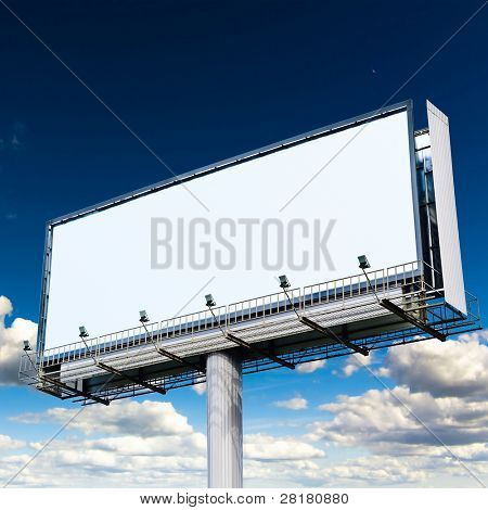 Outdoor Advertising Giant Poster