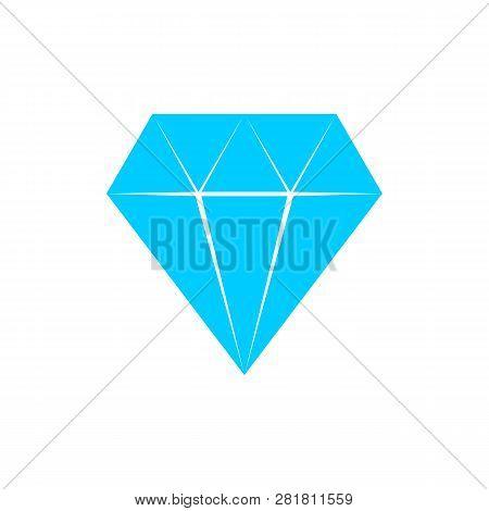 Diamond Icon Vector, Diamond Icon Eps10, Diamond Icon Vector, Diamond Logo Design, Diamond Blue. Dia