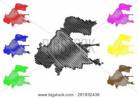 Presov City (slovakia, Slovak Republic City) Map Vector Illustration, Scribble Sketch City Of Presov