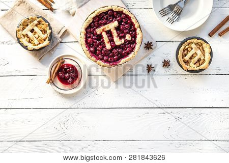 Pi Day Cherry And Apple Pies