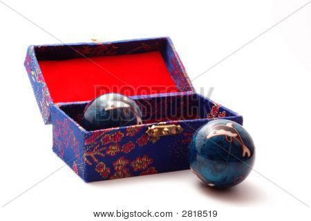 Baoding Balls With Case
