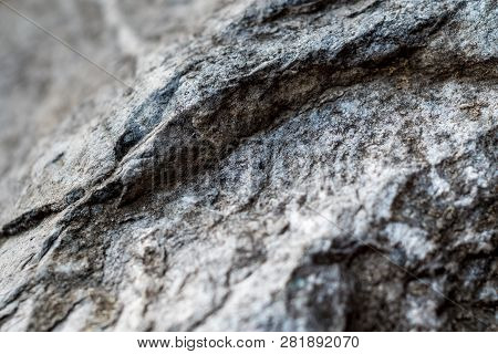 Full Frame Texture Of Decorative Natural Stone In The Park