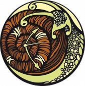 Snail moves so slowly... And it seems, that time is stopped. poster