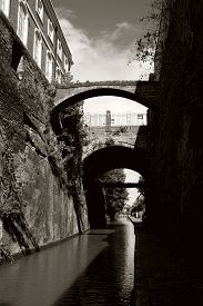 The Bridge Of Sighs And Northgate Bridge, Viewed From The Shropshire Union Canal Towpath Entering Ch