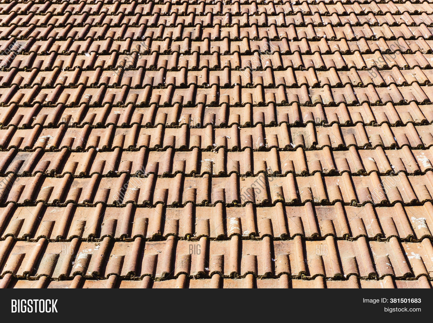 Red Ceramic Tile Roof Image Photo Free Trial Bigstock