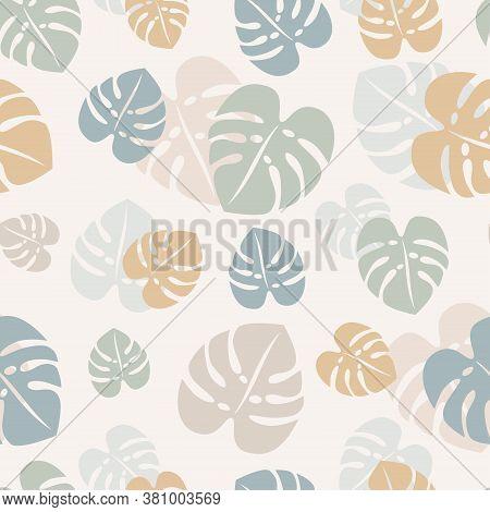Monstera Leaf Pattern.eps