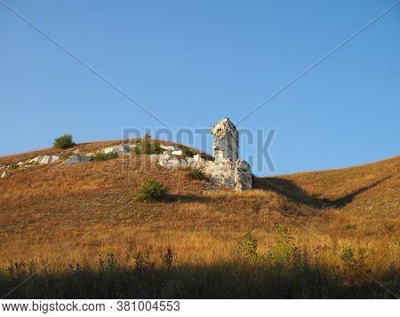 Cretaceous Poles - Remnants Of Ancient Sea, Called Diva , Divnogorye Village, Voronezh Region, Russi