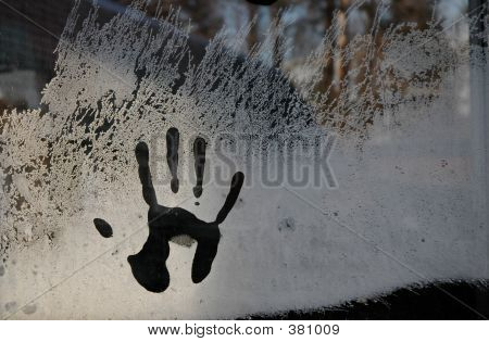 Hand In Ice