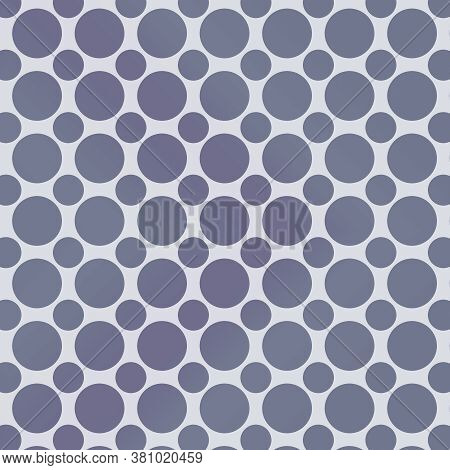 Gray Polka Dot Pattern With Various Sized Dots And Tones Of Grey For This Design Element In 12x12 Ba