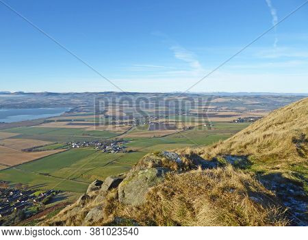 Loch Leven And Mountains Of Scotland In Winter