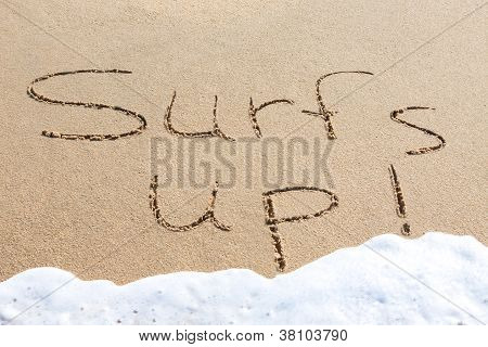 Surf's Up - Written In The Sand