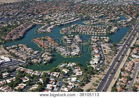 Scottsdale Lake Front Homes