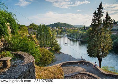 Montenegro,municipality Of Podgorica/podgorica-august 30 2019: