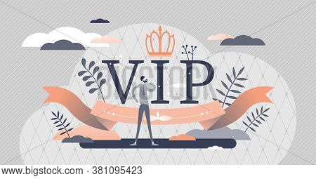 Vip Luxury Lifestyle With Royal Exclusive Importance Tiny Persons Concept. Premium Class Event With