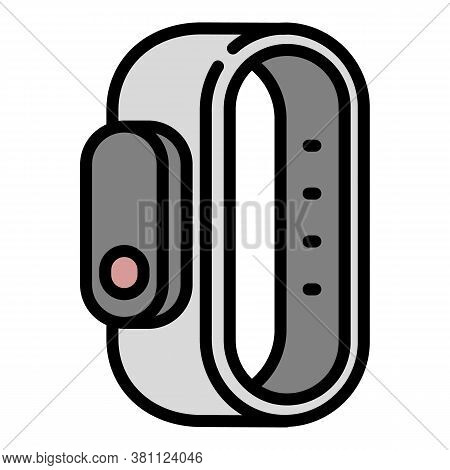 Fitness Activity Tracker Icon. Outline Fitness Activity Tracker Vector Icon For Web Design Isolated